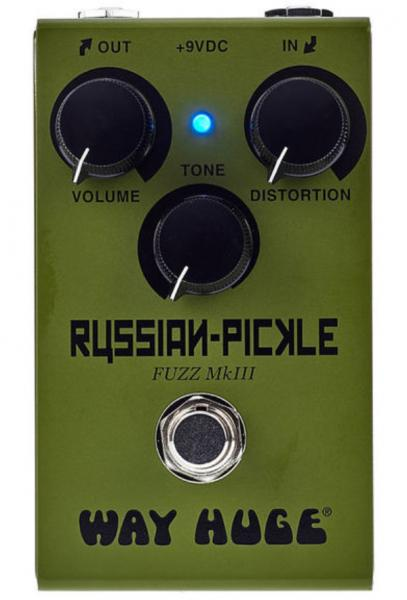 Overdrive, distortion & fuzz effect pedal Way huge Smalls Russian-Pickle Fuzz WM42