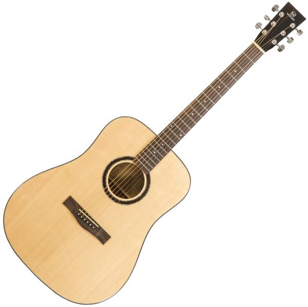 Acoustic guitar & electro Wesland DR1-M - Natural