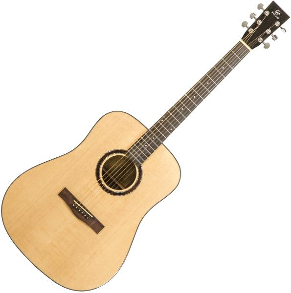 Acoustic guitar & electro Wesland DR1-W - Natural