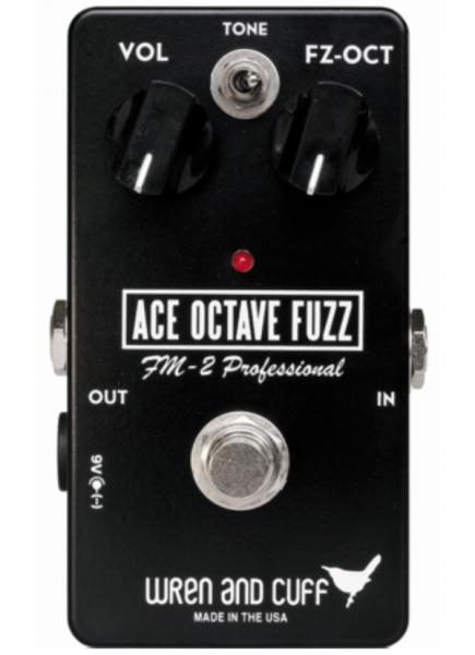 Overdrive, distortion & fuzz effect pedal Wren and cuff Ace Octave Fuzz