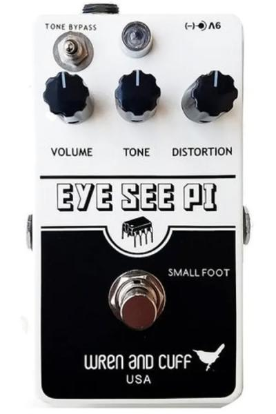 Overdrive, distortion & fuzz effect pedal Wren and cuff Eye See Pie Fuzz