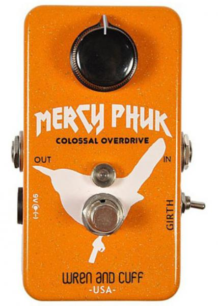 Overdrive, distortion & fuzz effect pedal Wren and cuff Mercy Phuk Overdrive