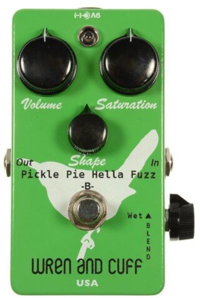 Overdrive, distortion & fuzz effect pedal Wren and cuff Pickle Pie Bass Fuzz