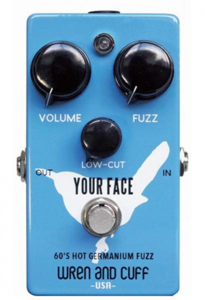 Overdrive, distortion & fuzz effect pedal Wren and cuff Your Face 70's Germanium Fuzz