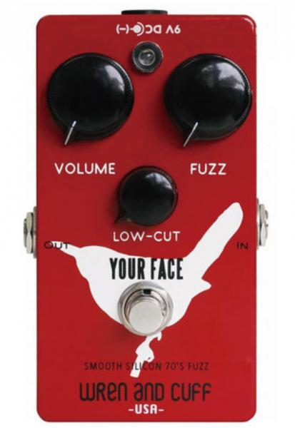 Overdrive, distortion & fuzz effect pedal Wren and cuff Your Face 70's Silicon Fuzz