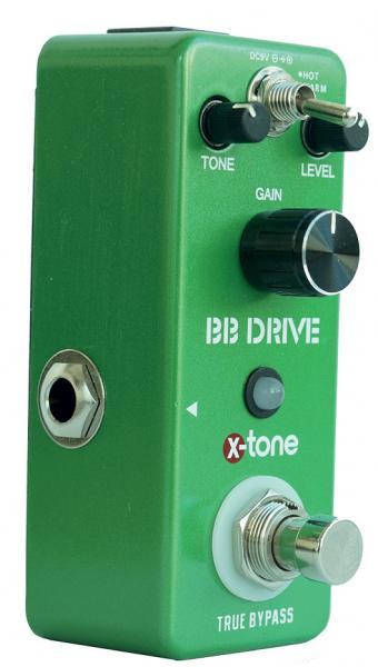 Overdrive, distortion & fuzz effect pedal X-tone BB Drive