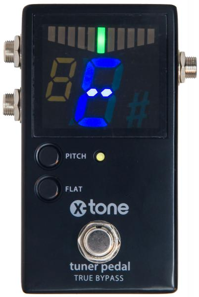 Pedal tuner X-tone Chromatic Pedal Tuner