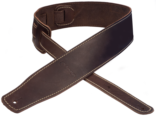 Guitar strap X-tone xg 3152 Classic Leather Guitar Strap - Dark Brown