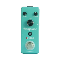 Reverb, delay & echo effect pedal X-tone Delay Time