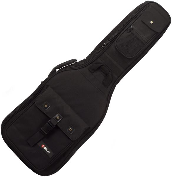 Electric guitar gig bag X-tone Deluxe Nylon Electric Guitar Bag - Black
