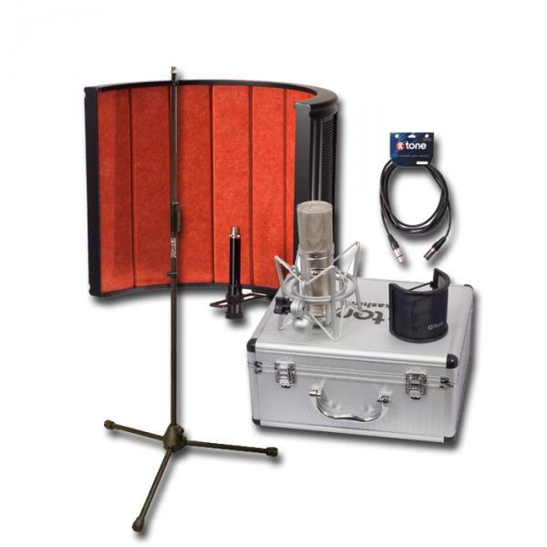 Microphone pack with stand X-tone Kashmir Pack Studio
