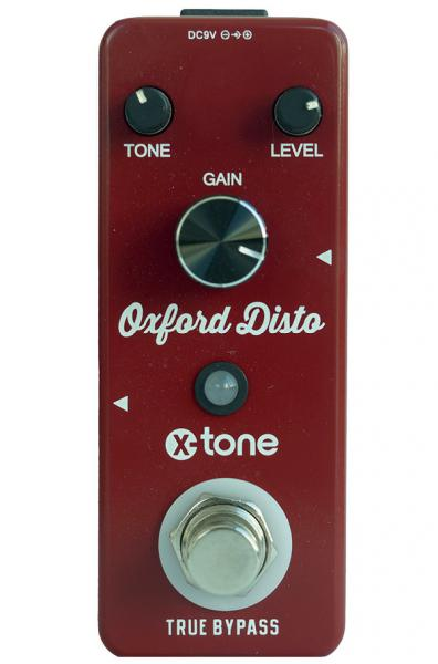 Overdrive, distortion & fuzz effect pedal X-tone Oxford Disto