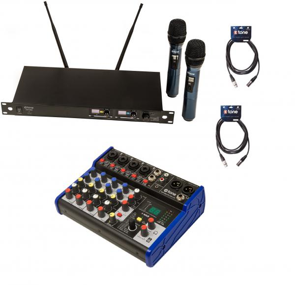 Wireless handheld microphone X-tone Pack Sono 2 Micros