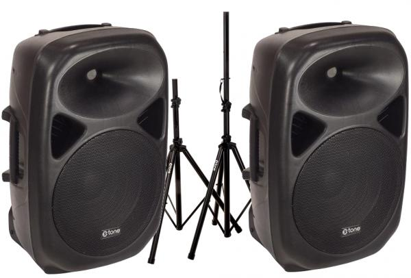 Complete pa system X-tone 2 x Sma-12 + XH 6310