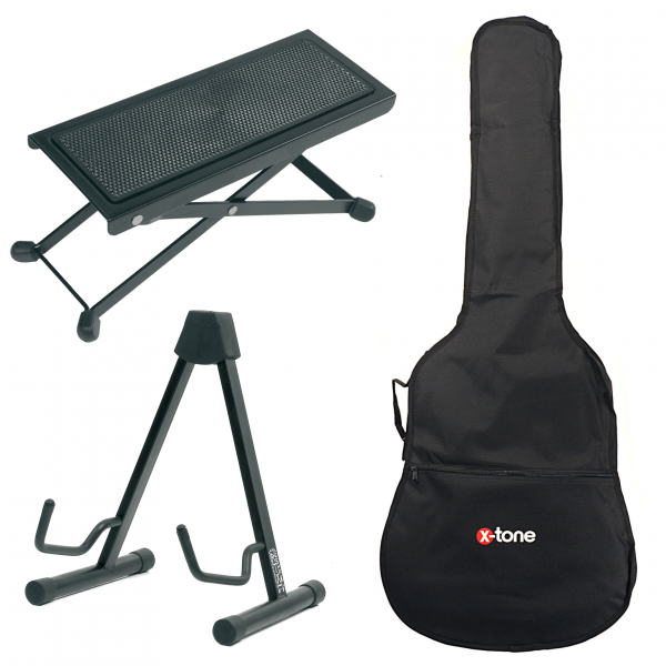 Classical guitar set X-tone 3/4 Classical Guitar Accessories Starter Pack