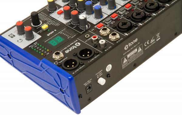Analog mixing desk X-tone X MIX8 Dsp