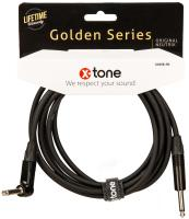 Cable X-tone X3058-3M Instrument Cable Right/Angled 3m