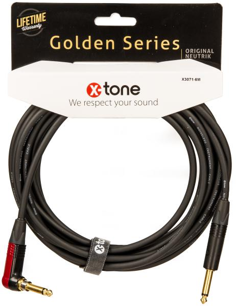 Cable X-tone X3071-6M Instrument Cable Right/Angled 6m