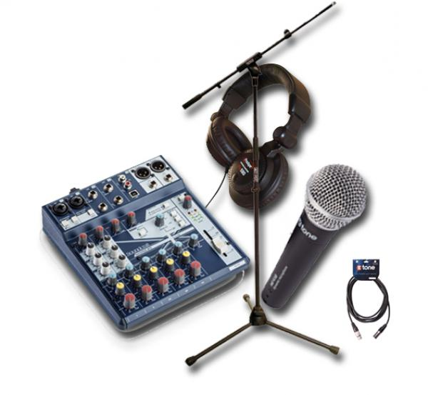 Microphone pack with stand X-tone XD-410 Pack Stage
