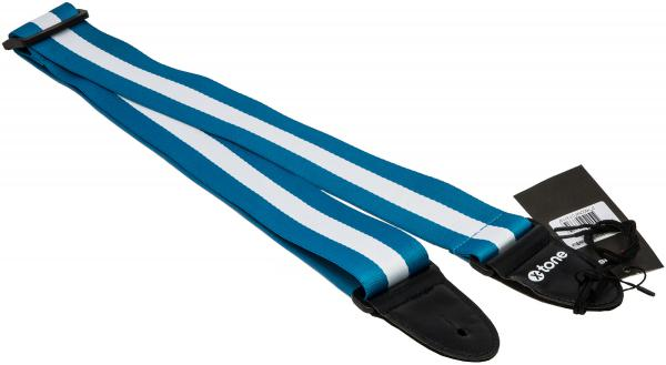 Guitar strap X-tone XG 3113 Nylon Guitar Strap Stripe - Blue & White