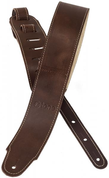 Guitar strap X-tone xg 3155 Plus Leather Guitar Strap - Brown