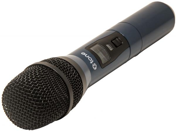 Wireless handheld microphone X-tone XHF200 Systeme HF Main Multi Frequences