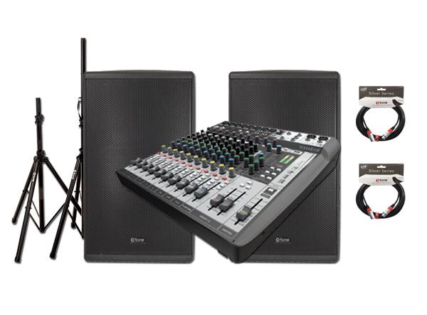 Complete pa system X-tone Blundle Live Xts-15