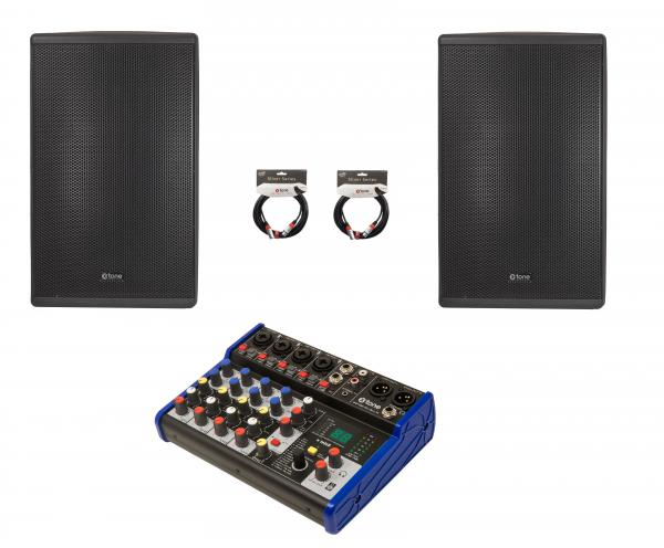 Active full-range speaker X-tone Pack Sono 600 Watts 8 canaux