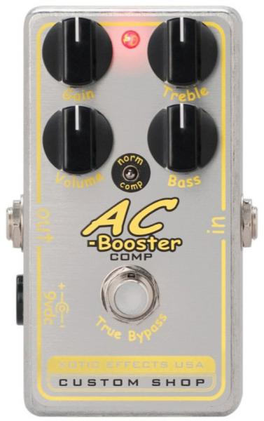Compressor, sustain & noise gate effect pedal Xotic Custom Shop AC-Booster Comp