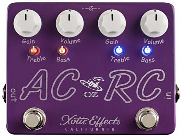 Overdrive, distortion & fuzz effect pedal Xotic Oz Noy AC/RC-OZ Ltd Boost/Overdrive