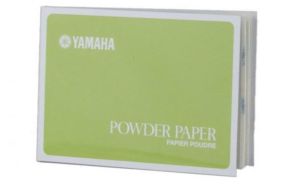 Maintenance product for recorder Yamaha Woodwind Pad Powder Paper