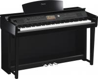 Digital piano with stand Yamaha CVP-705 expo - polished ebony