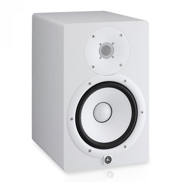 Active studio monitor Yamaha HS5 White - One piece