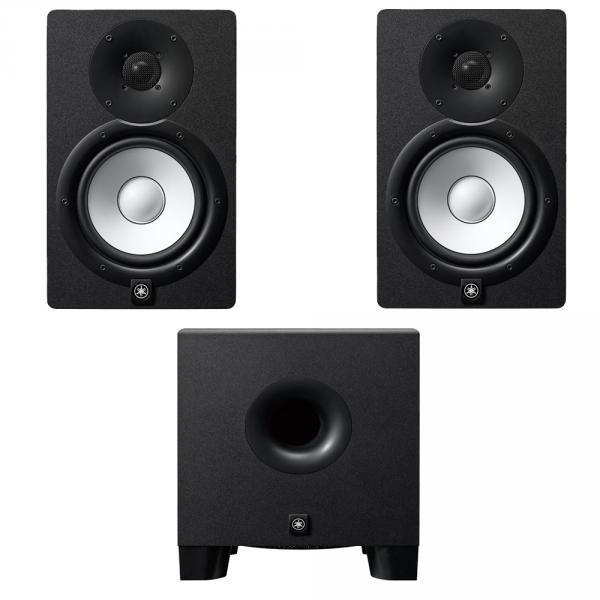 Home studio set Yamaha HS7 Black (la paire) + HS8S