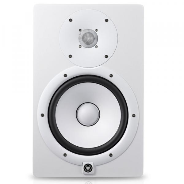 Active studio monitor Yamaha HS8 White - One piece