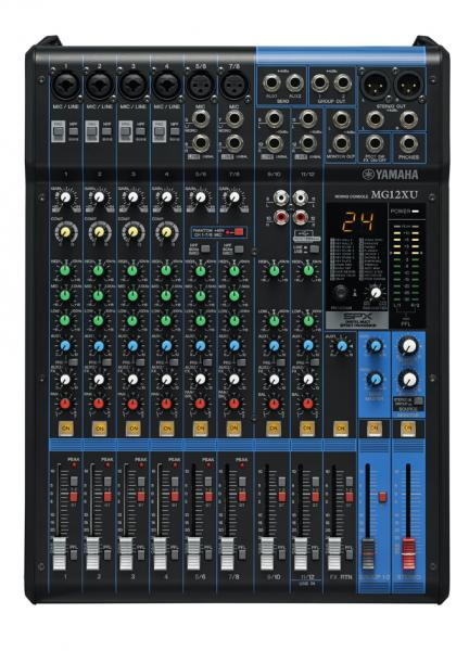 Analog mixing desk Yamaha MG12XU