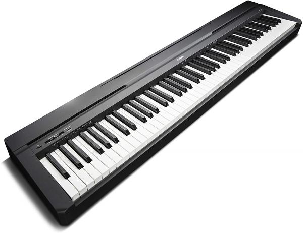 Portable digital piano Yamaha P-45B + Stand L85 - noir