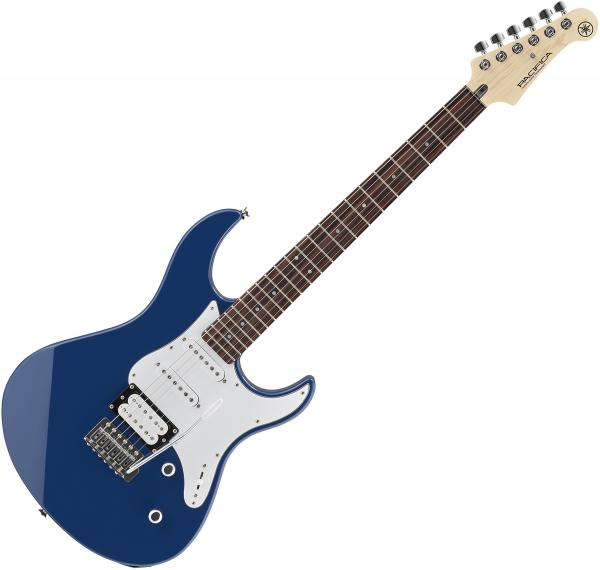 Solid body electric guitar Yamaha Pacifica PAC112V - United blue