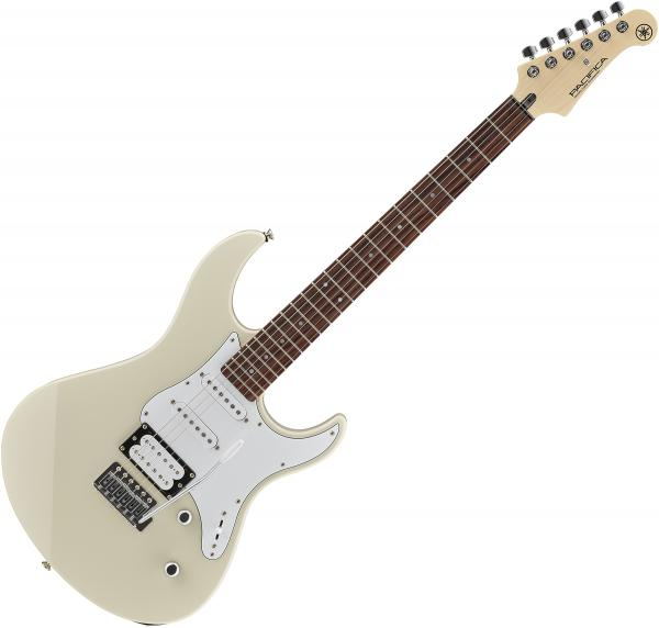 Solid body electric guitar Yamaha Pacifica PAC112V - Vintage white