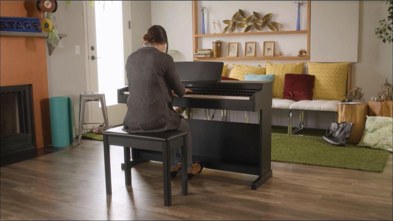 Yamaha YDP-164 Arius - black Digital piano with stand
