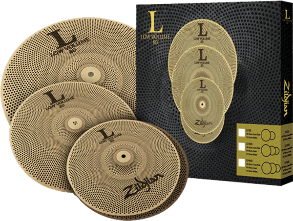 Cymbals set Zildjian Pack L-80 Low Volume