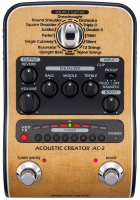Modulation & simulator effect pedal Zoom AC-2 Acoustic Creator