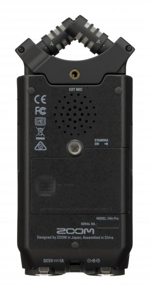 Portable recorder Zoom H4n Pro Black + ZOOM APH4N Pro