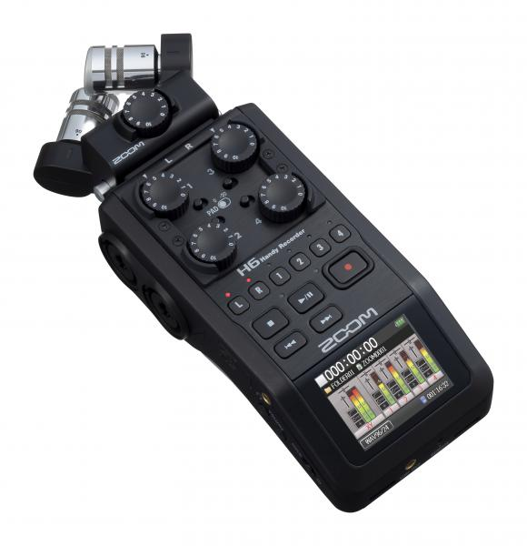 Portable recorder Zoom H6 Black