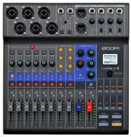 Analog mixing desk Zoom LIVETRAK L-8