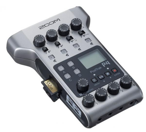Portable recorder Zoom P4 Podtrack