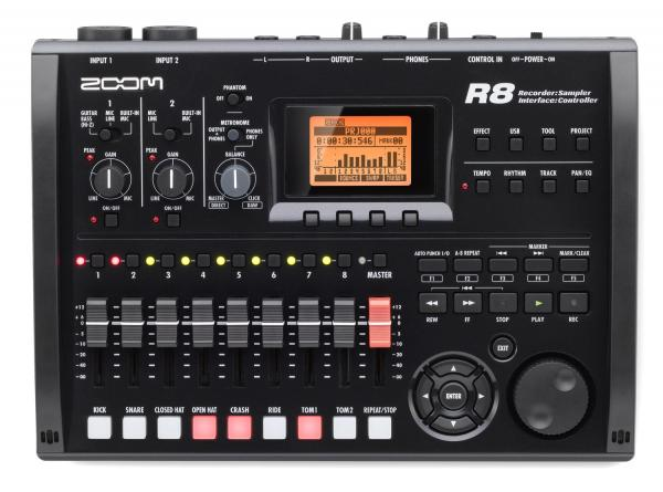 Multi tracks recorder Zoom R8