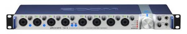 Thunderbolt audio interface Zoom TAC-8 thunderbolt